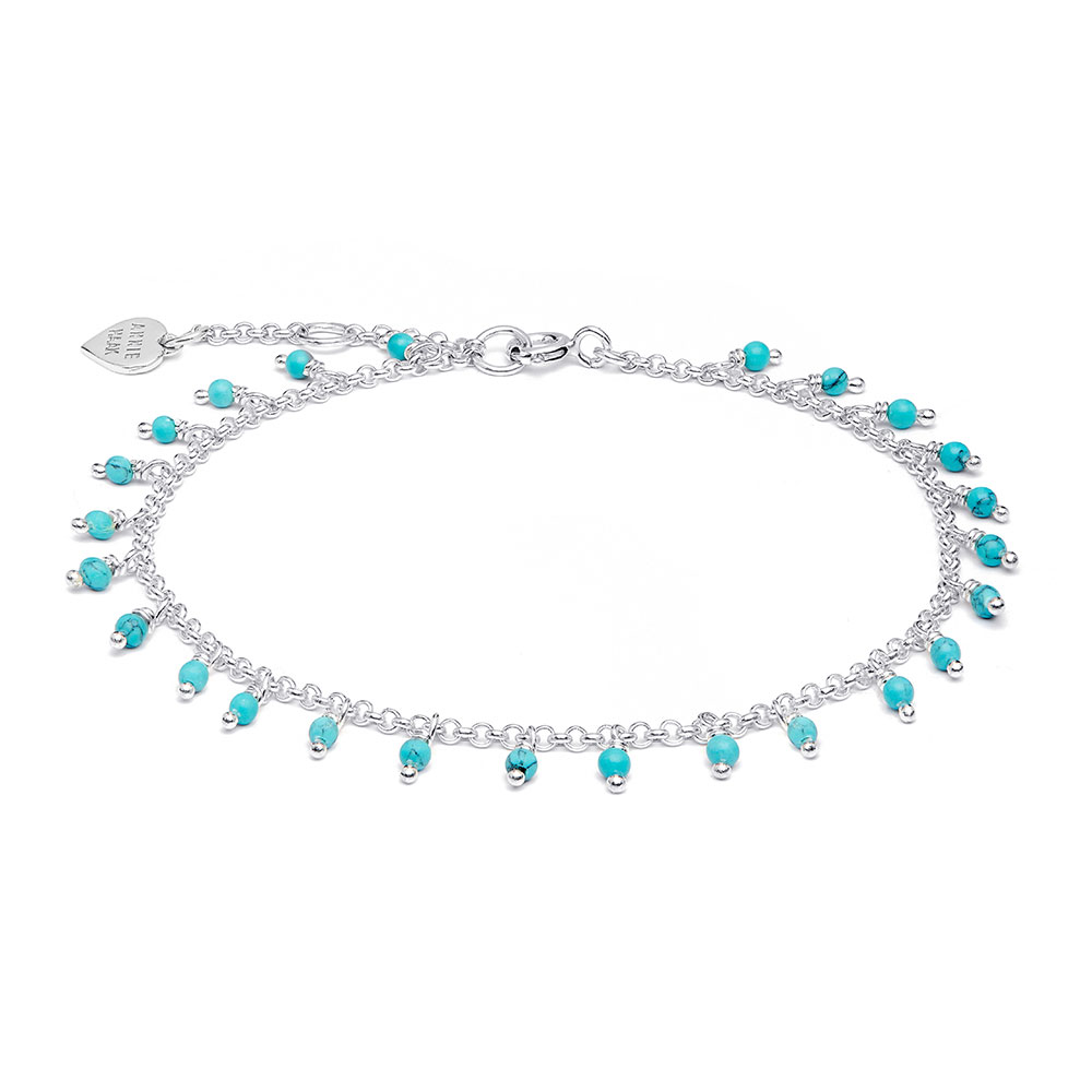 Chi-Chi Silver Bracelet - Turquoise