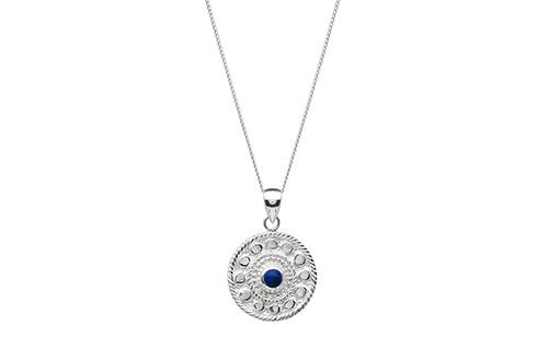 Ronde Silver Necklace