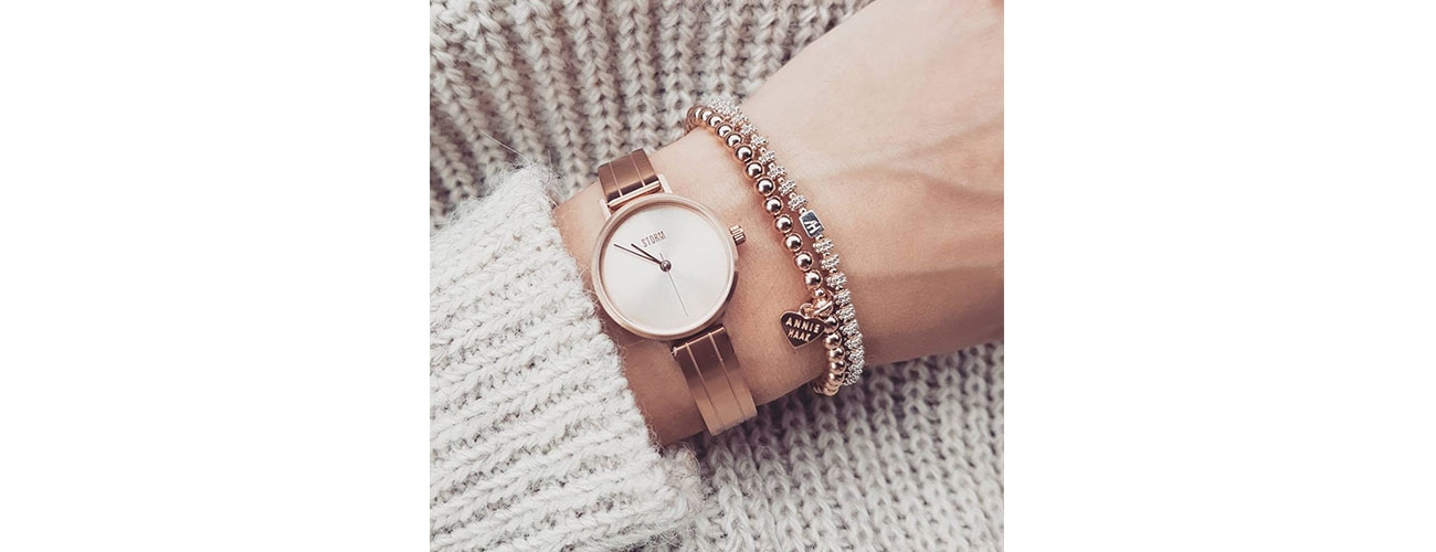 Rose Gold Winter Style