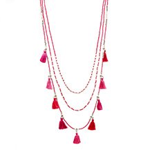 MALAI TASSEL NECKLACE