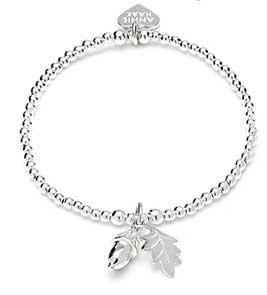 Anna Bella silver charm bracelet