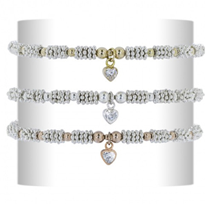 Coco's gold and silver bracelet
